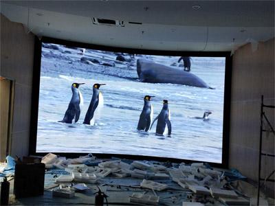 涪陵科创展厅室内P2.5全彩LED显示屏
