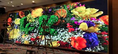 重庆某政府部门室内P2.5全彩LED显示屏