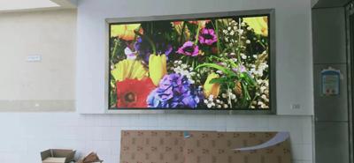 丰都某学校2块室内P2.5全彩LED显示屏