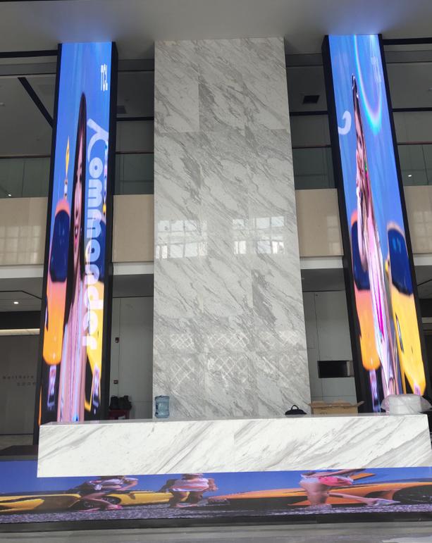 重庆某酒店室内P2.5及P3全彩LED显示屏