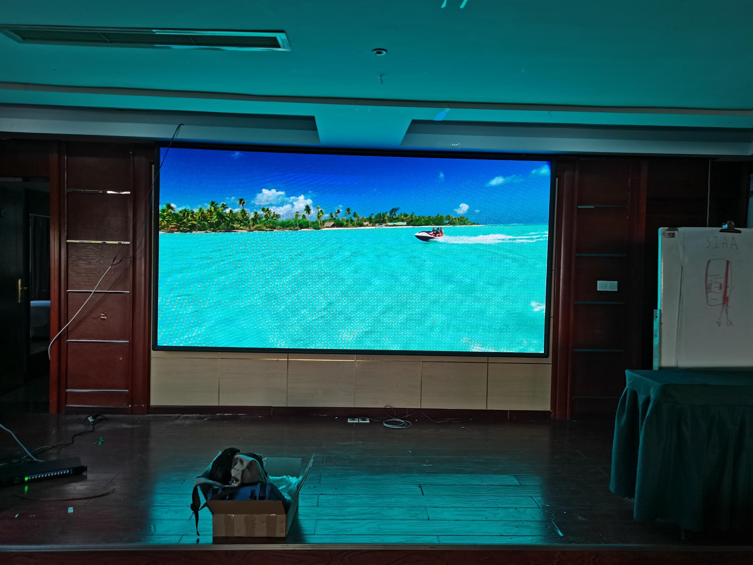 室内全彩显示屏P2.5