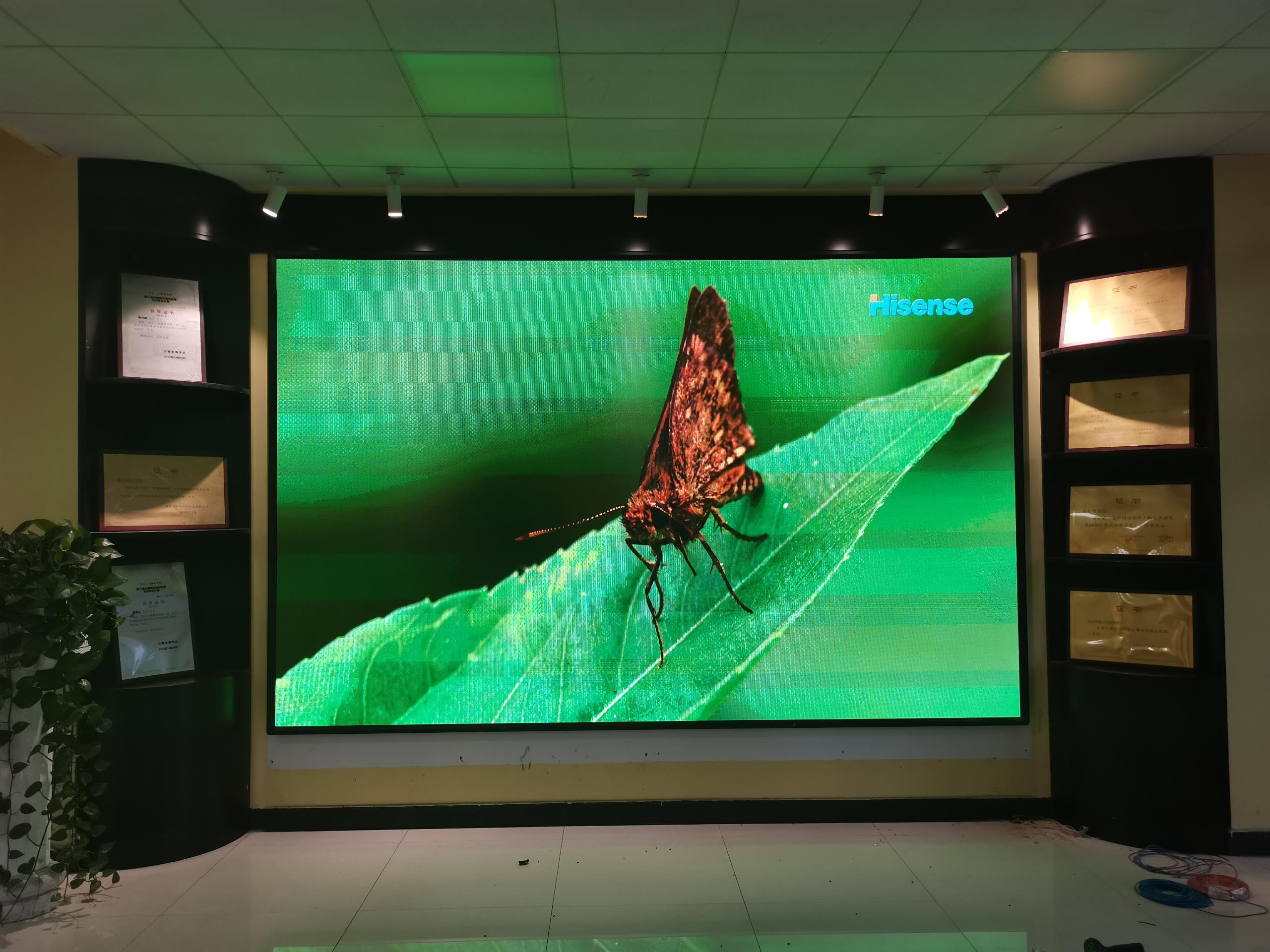 重庆师范大学音乐学院P2.5室内显示屏