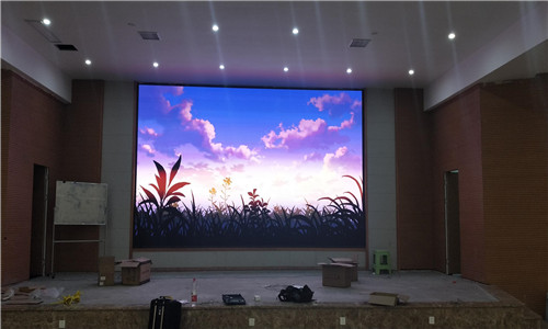 重慶歌樂山三匯園P4室內顯示屏