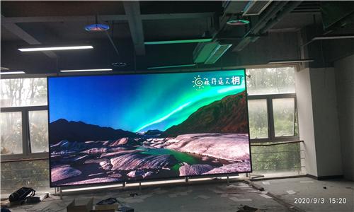 重庆艾美生活室内P2.5全彩LED显示屏