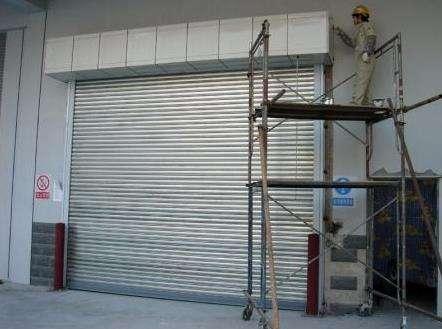 防火卷帘门在安装和使用中要留意的细节