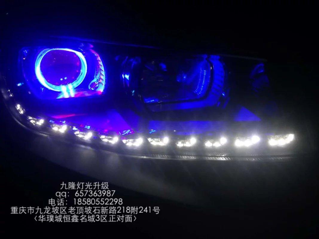 长安CS75车灯改装升级