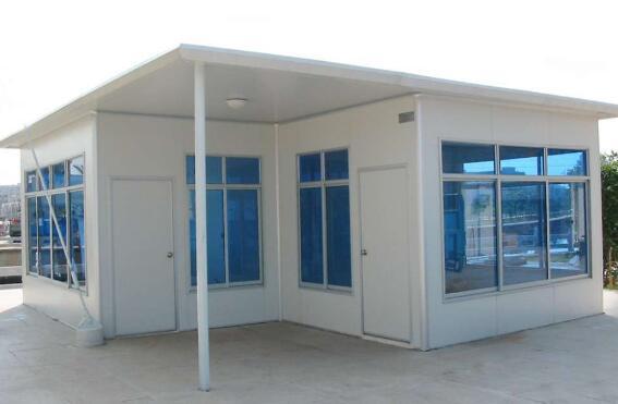 安装活动板房使起更加牢固的方法