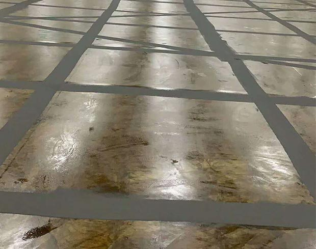 在施工或者整改耐磨地坪的时候根据具体损伤的情况来判断进行
