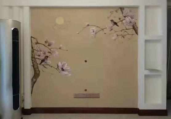 在绘制墙绘的时候为什么不用墙绘机器来制作呢