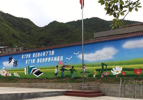 重庆手绘墙公司分享你喜欢用什么风格的墙?