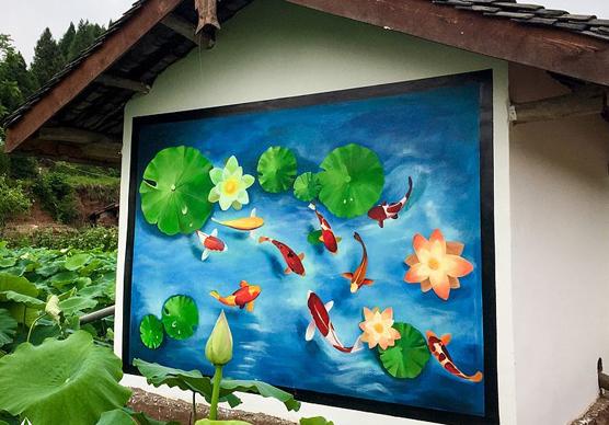 景区手绘墙