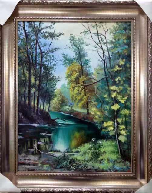手绘壁画提高现代生活质量