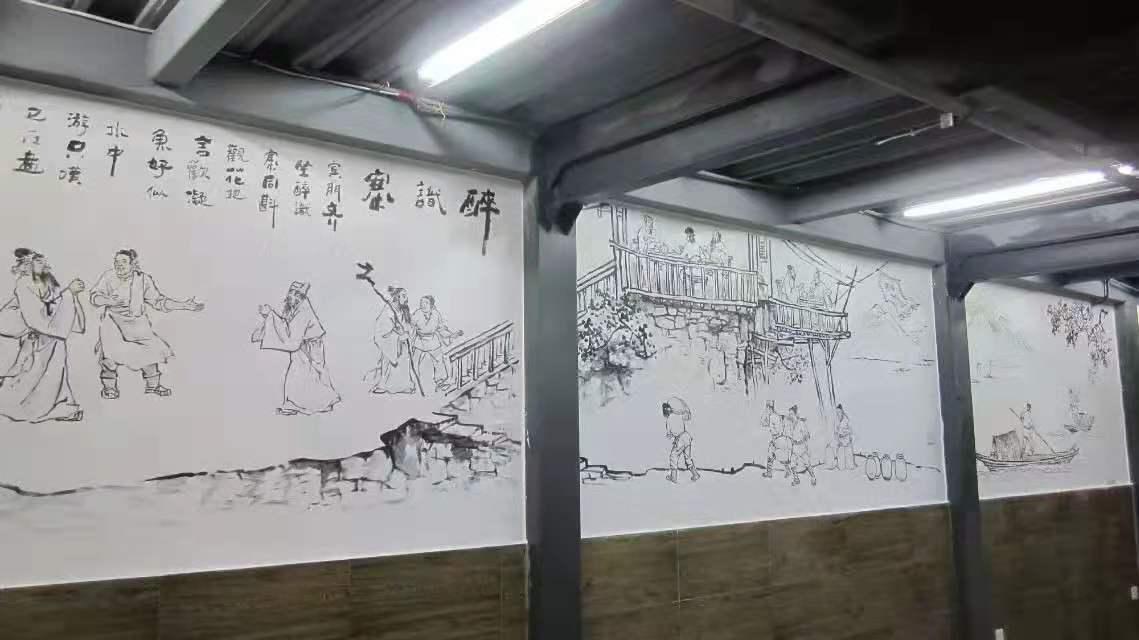 重庆墙体彩绘的优势