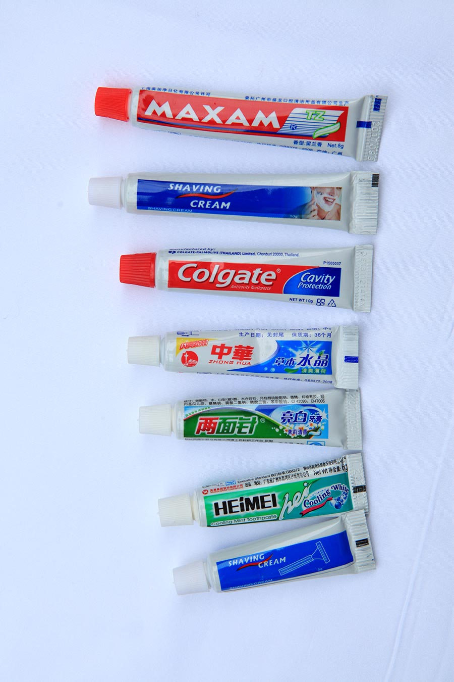 重庆酒店一次性牙膏