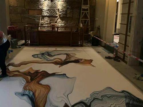 艺术地坪漆施工