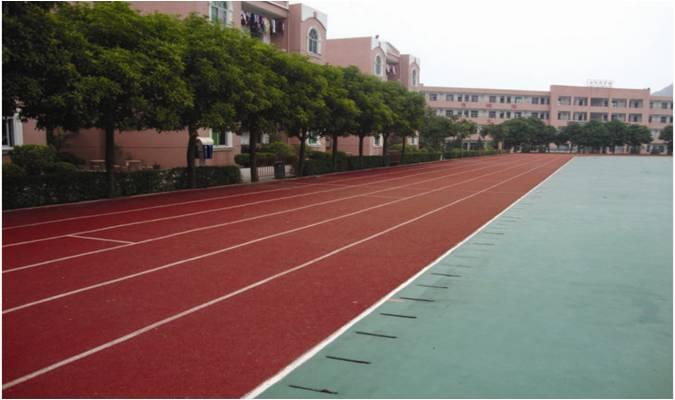 重庆塑胶跑道地坪