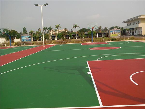 重庆篮球场地坪施工