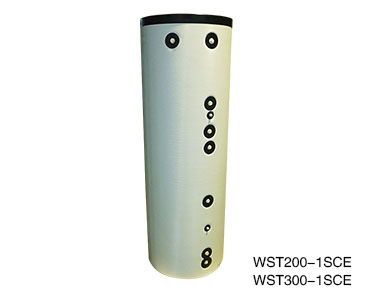 WST薄保溫衣外殼雙盤管水箱