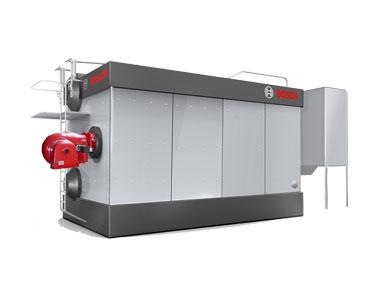 SZS系列燃油氣蒸汽 熱水鍋爐