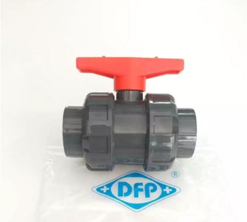 UPVC工业水处理活接球阀