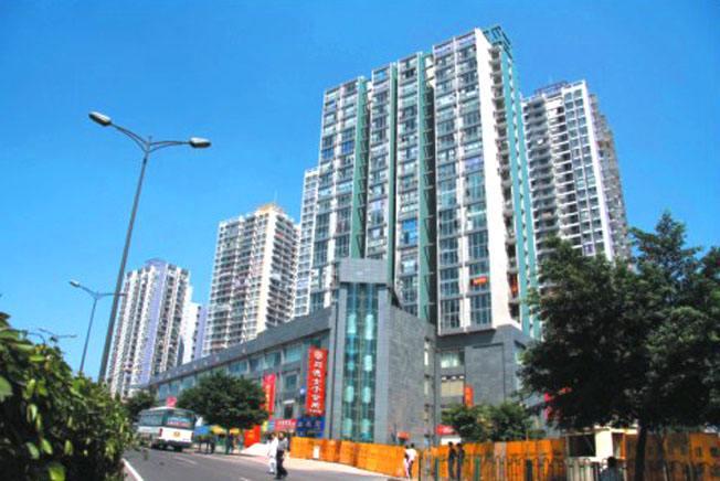 重庆大学外墙维修