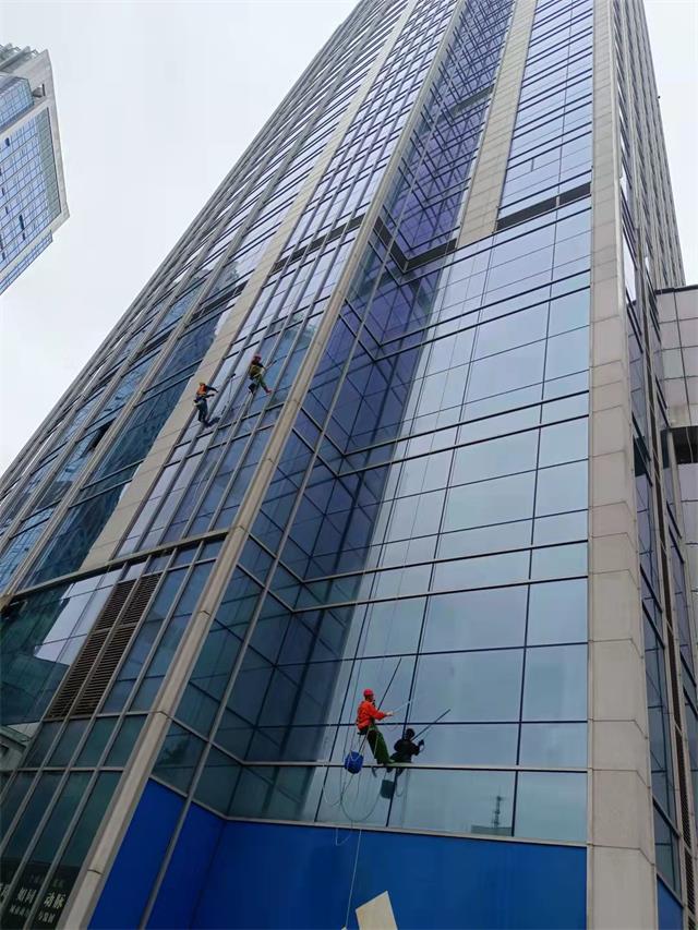 重庆外墙玻璃清洗