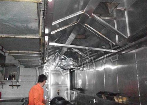 厨房排油烟系统系统的组成