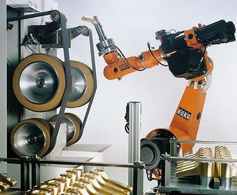 机器人打磨设备