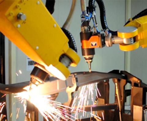 机器人激光切割设备