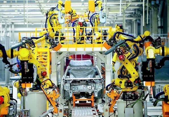 生活中常见的重庆工业机器人在自动化生产