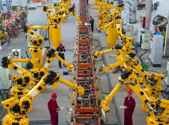 工业机器人最新市场进展