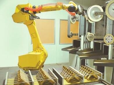 打磨机器人都常见的磨头类型先容