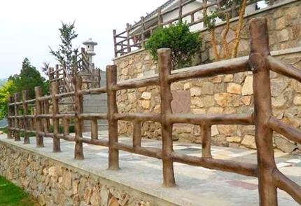 重庆防木栏杆