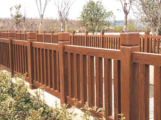 仿木仿石栏杆得到市场广泛运用和认知