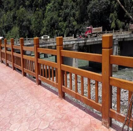怎样提高水泥仿石栏杆的美观度