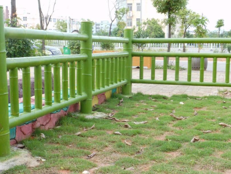 四川仿竹栏杆安装厂家