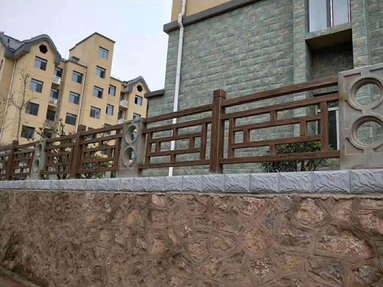 小区防护栏杆