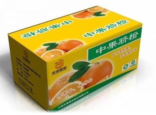脐橙纸箱包装