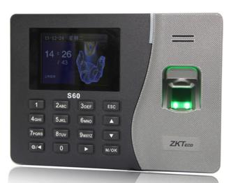 指纹考勤机(ZKS60)
