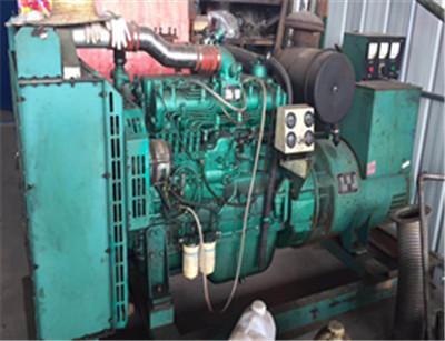 玉材发电机维修案例
