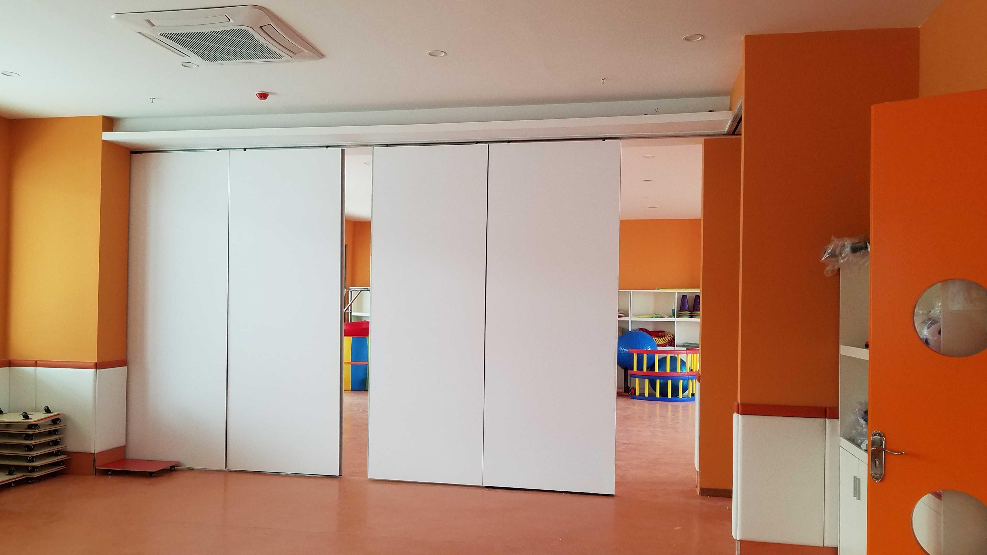 儿童艺术培训室活动隔断