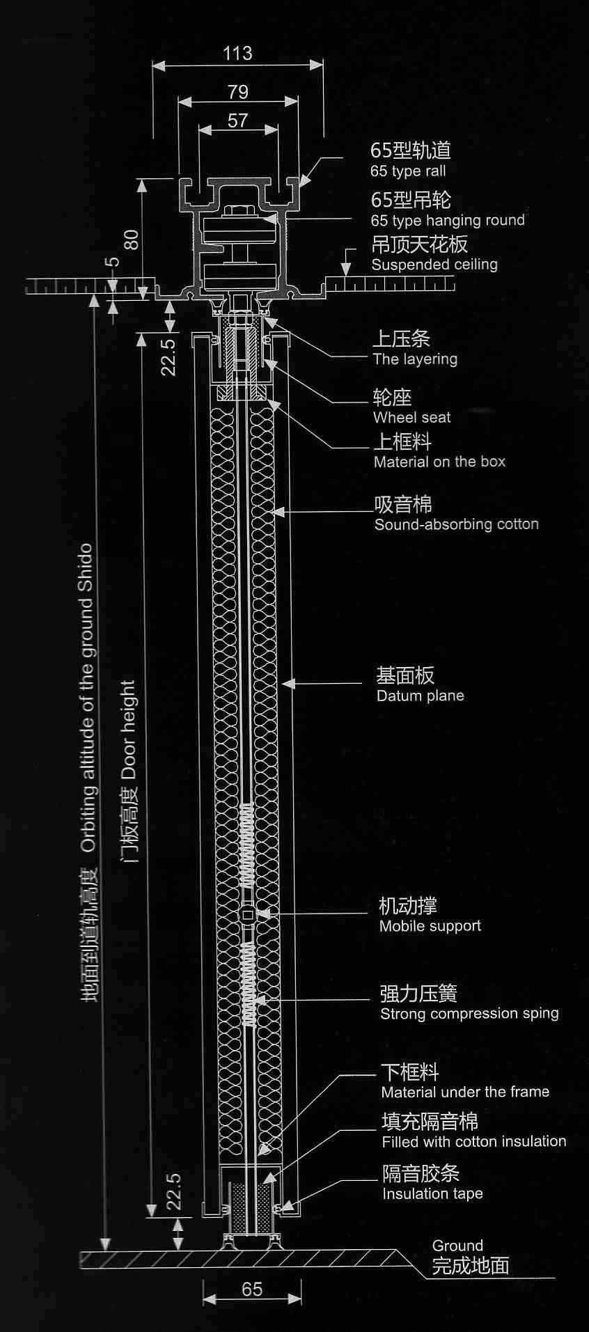 65型结构图