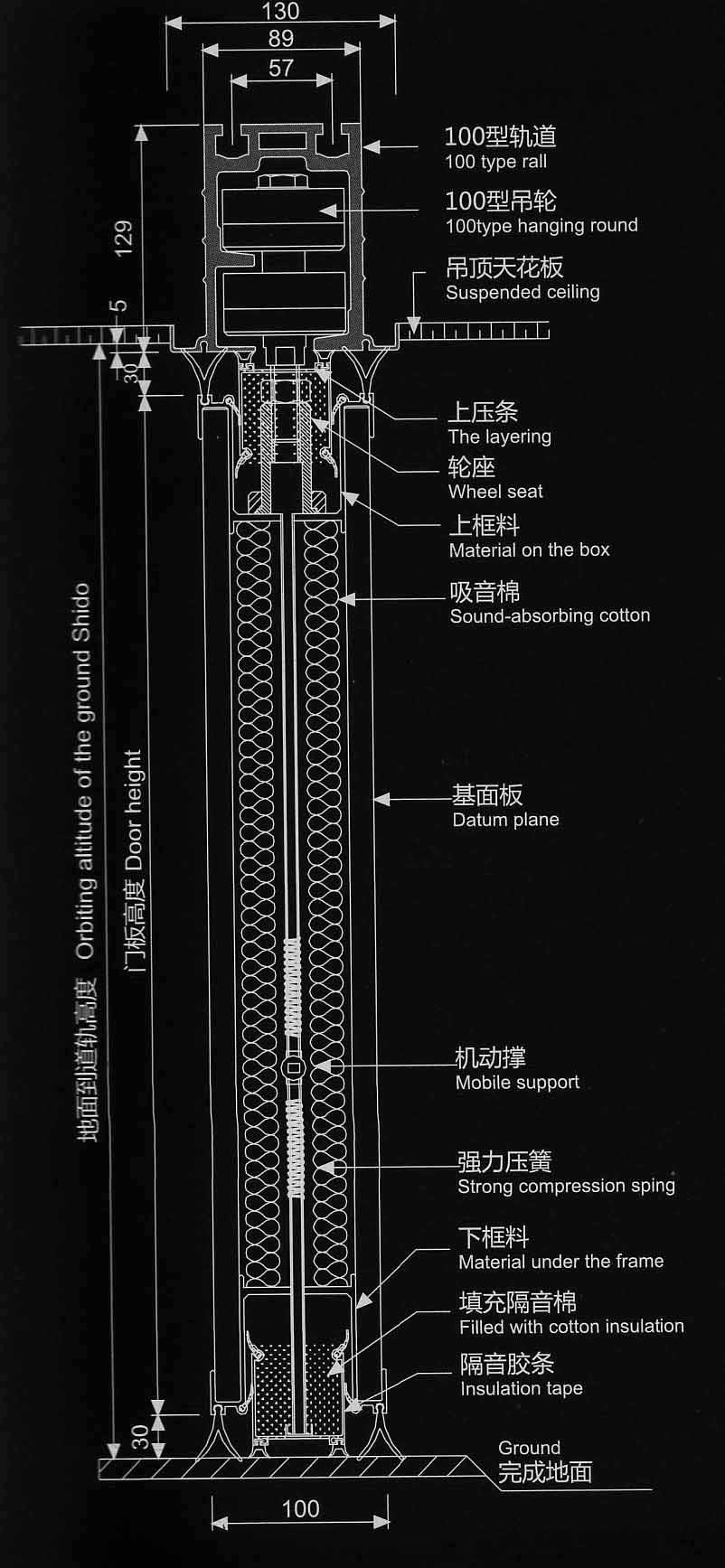 100型结构图
