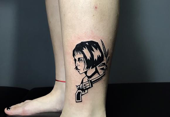 暗黑系纹身
