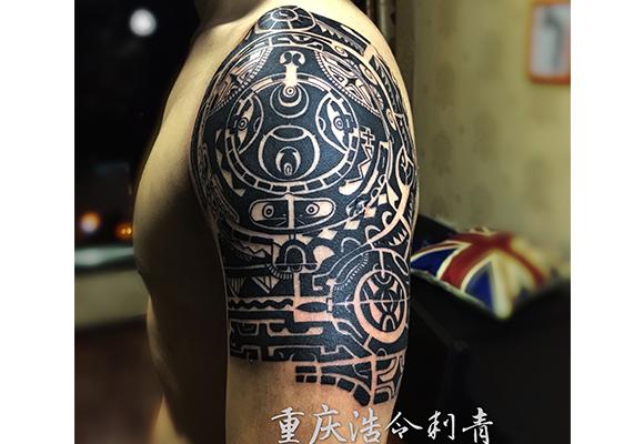 玛雅图腾纹身