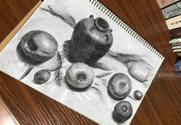 纹身素描图