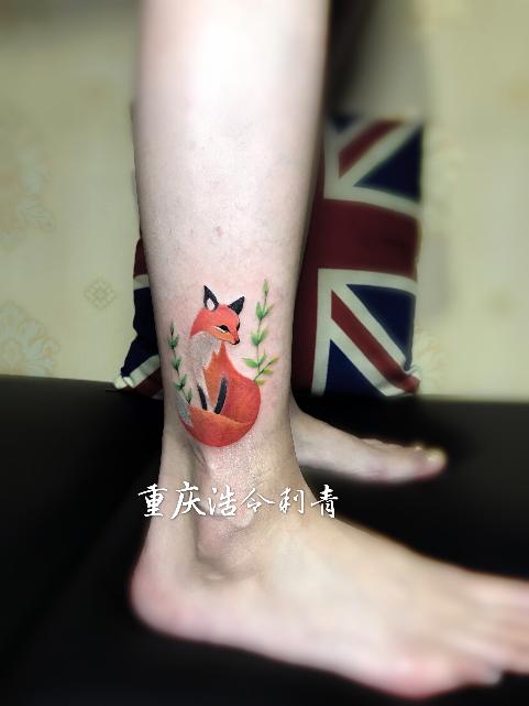重庆彩色纹身