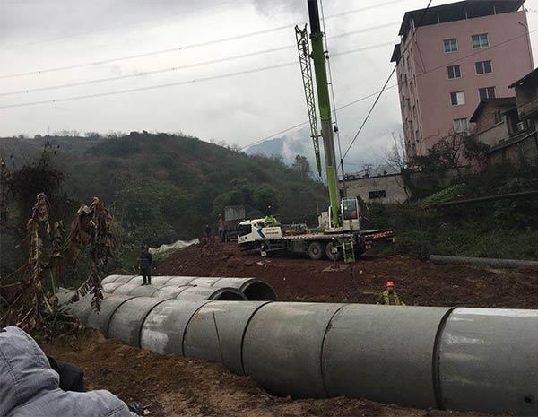 钢筋混凝土排水管改造工程