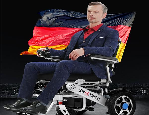 斯维驰SW008电动轮椅