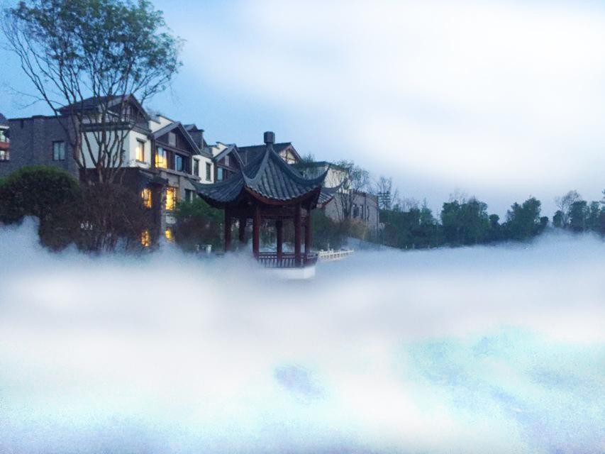 园区喷雾造景